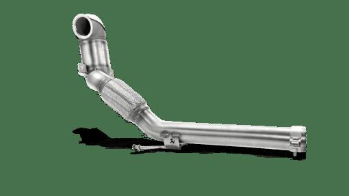 Downpipe + Catalyseur + intermédiaire Akrapovic VW Golf 7 GTI Facelift 2017 1