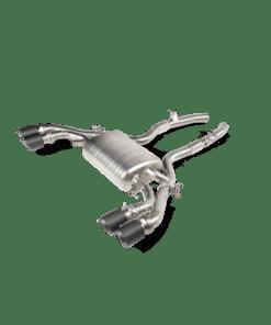 Slip-on TITANE Akrapovic pour BMW X3M OPF/GPF