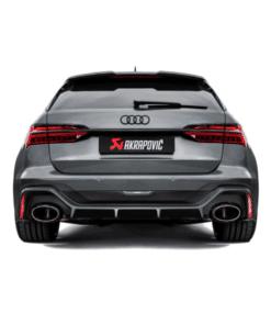 Ligne Evolution Akrapovic Audi RS6 C8 3