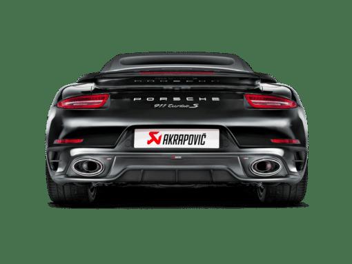 Diffuseur carbone Akrapovic Porsche 991 Turbo/Turbo S 2