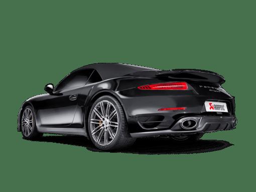Diffuseur carbone Akrapovic Porsche 991 Turbo/Turbo S 3