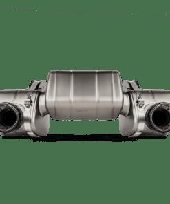 Slip-On Cayman GT4 AKRAPOVIC