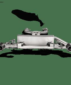 Evolution Line AKRAPOVIC Giulia 2016/2017