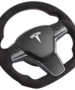 Volant alcantara Tesla Model Y