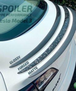 Spoiler type Performance Green Drive - Tesla Model 3