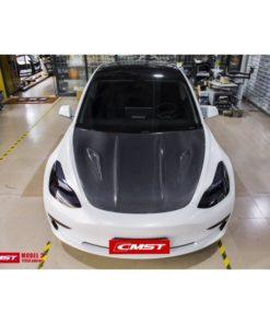 Capot en carbone TESLA Model 3