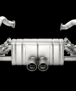 Slip-on titane Akrapovic Porsche Cayman GT4