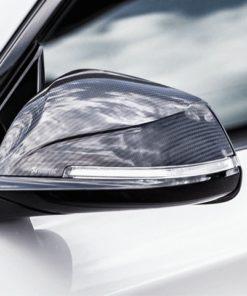 Coque rétroviseur Akrapovic carbone brillant BMW M2 F87